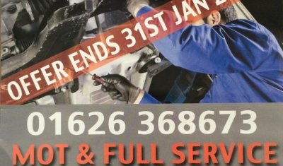 Service and MOT offer